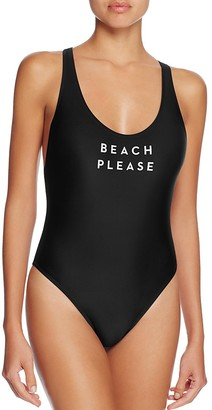MILLY Beach Please One Piece Swimsuit $185 thestylecure.com