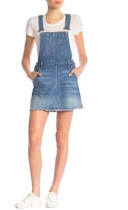 7 For All Mankind Mini Skirt Overall
