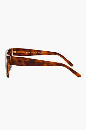 Super Classic Havana Luciano Sunglasses