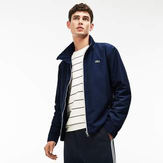 Lacoste Men's Built-In Hood Taffeta Windbreaker
