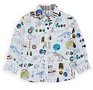 Paul Smith Infants' Mixed-Graphic Cotton Shirt