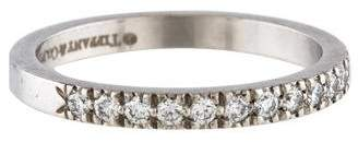 Tiffany & Co. Platinum Diamond Novo Ring