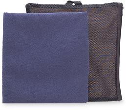 Aquis Adventure Microfiber Towel, Extra Large, Blueberry Mesh