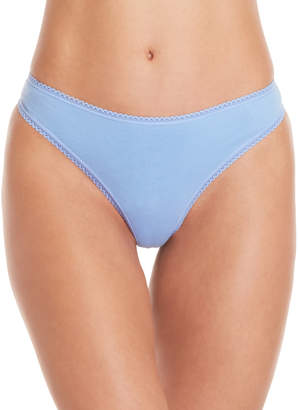 Betsey Johnson 3-Pack Cotton Thong