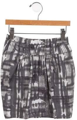 Marni Girls' Tie-Dye Print Skirt