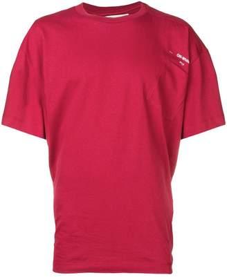 Off-White off centre pocket logo T-shirt