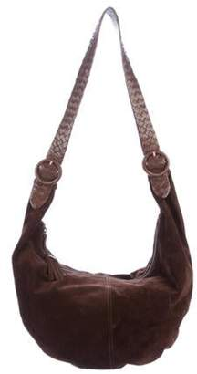 Bottega Veneta Large Suede Hobo tan Large Suede Hobo