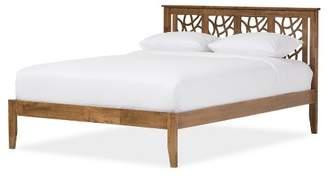 Baxton Studio Trina Contemporary Tree Branch Inspired Wood Platform Bed