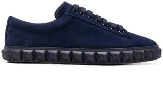 Stuart Weitzman embellished sole sneakers