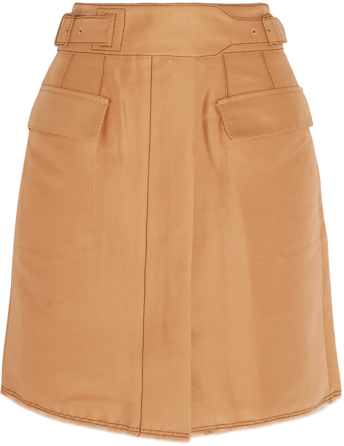 3.1 Phillip Lim3.1 Phillip Lim Cotton-blend mini skirt
