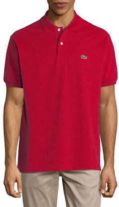 Lacoste Short Sleeve Stripe Cotton Polo