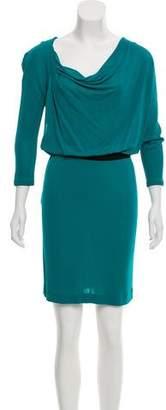 Joseph Mid-Sleeve Midi Dress