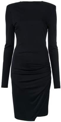 Tufi Duek v-back fitted dress