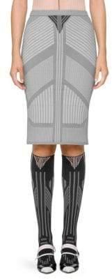 Prada Knit Pencil Skirt