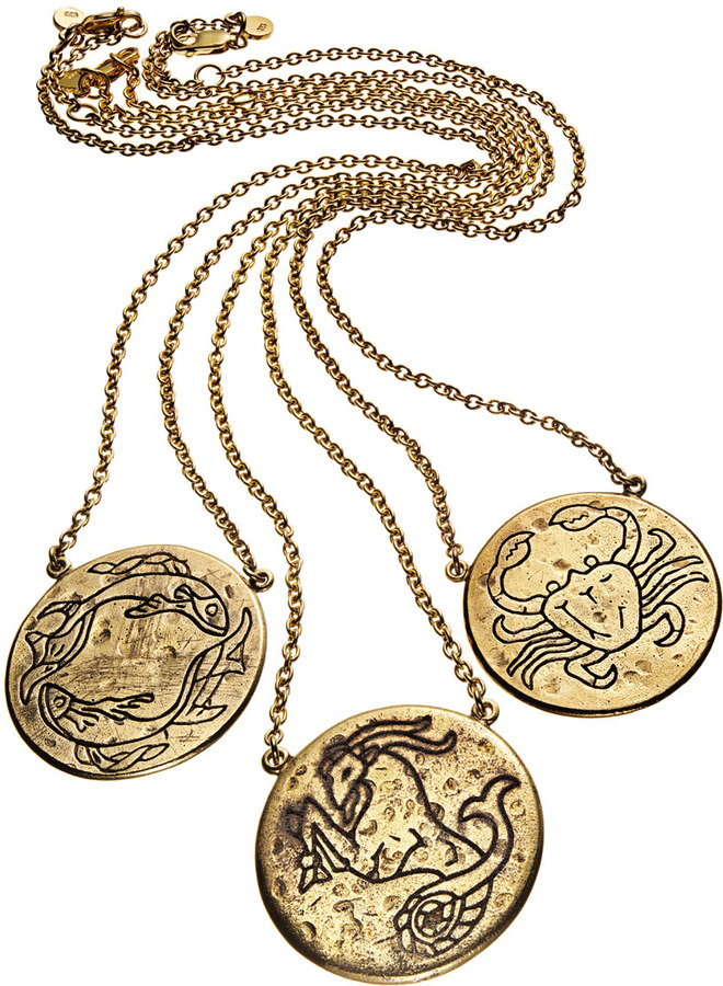 Amy Zerner Astrology Necklace, Aries
