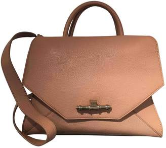 Givenchy Obsedia Tote Beige Leather Handbag