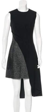 Christian Dior Layered Tweed Dress