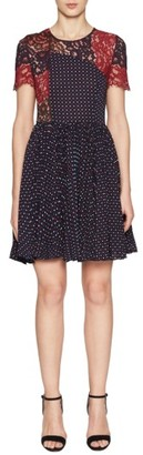 Women's French Connection Phoebe Fit & Flare Dress $198 thestylecure.com