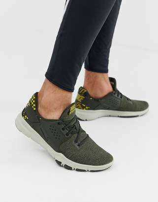 Nike Training Flex Control sneakers in khaki