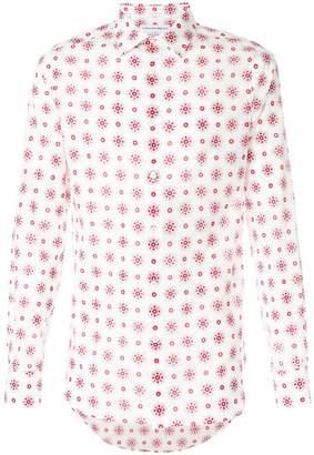 Alexander McQueen flower print shirt