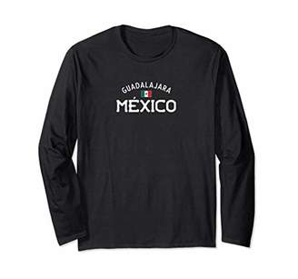 Guadalajara Mexico Shirt With Distressed Mexican Design