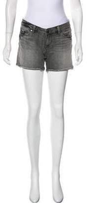 Paige Denim Denim Mini Shorts