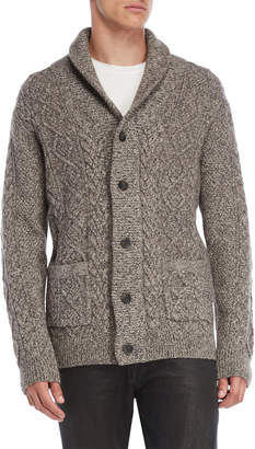 Lincs Twisted Cable Knit Cardigan