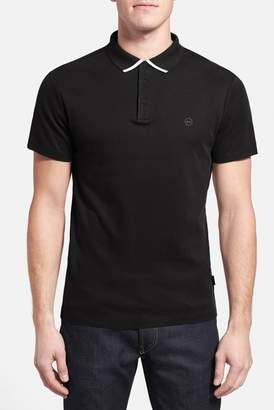 AG Jeans The Fade Short Sleeve Polo