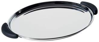 Alessi Bombé Oval tray with Handles