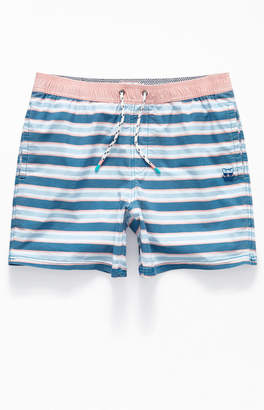 "Party Pants Kennedy Stripe 16"" Swim Trunks"
