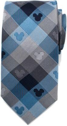 Cufflinks Inc. Cufflinks, Inc. Mickey Mouse Plaid Silk Tie