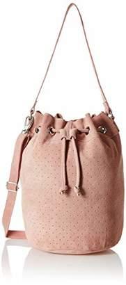 Tresori Women's Real Leather Bucket Bag
