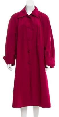 Hermes Silk Long Coat