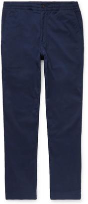 Polo Ralph Lauren Tapered Cotton-Blend Twill Chinos - Men - Blue