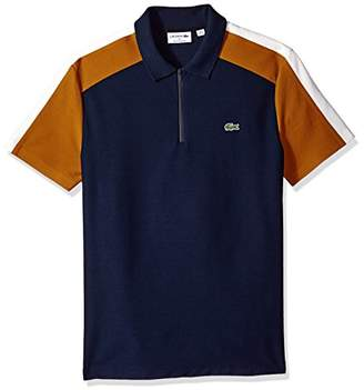 Lacoste Men's Mif Short Sleeve Noppe Pique Polo-Regular Fit