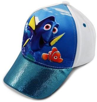 Disney Toddler Girls Finding Dory Character 3D Pop Baseball Cap, White/Blue, Age 2-4