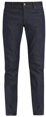 Acne Studios - Blå Konst North Slim Leg Jeans - Mens - Indigo