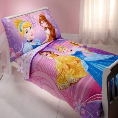 """Disney Crown Crafts Princess """"Dressed to Shine"""" 4-Piece Toddler Set"""