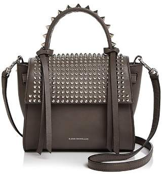 Elena Ghisellini Angel Extra Small Punky Leather Satchel
