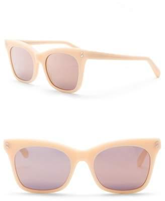 Stella McCartney 53mm Squared Cat Eye Sunglasses