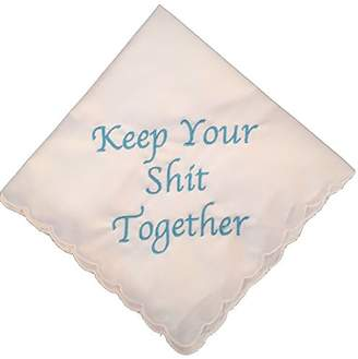 Keepsake Keep Your Shit Together Wedding Handkerchief in - Something Bridal