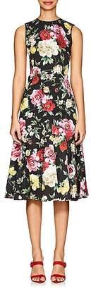 Dolce & Gabbana Women's Floral Cotton Dress