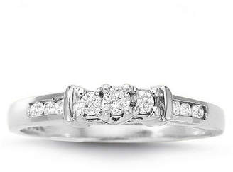 MODERN BRIDE Love Lives Forever 1/4 CT. T.W. Diamond 3-Stone Ring