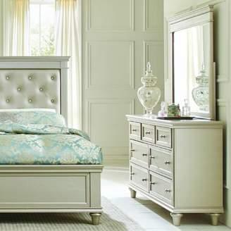 Celine Willa Arlo Interiors 7 Drawer Dresser with Mirror