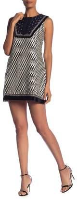Molly Bracken Woven Embellished Yoke Dress