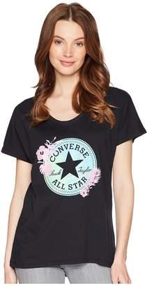 Converse Palm Print CP Fill Femme Tee Women's T Shirt