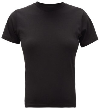 Hanes X Karla - The Crew Cotton Jersey T Shirt - Womens - Black