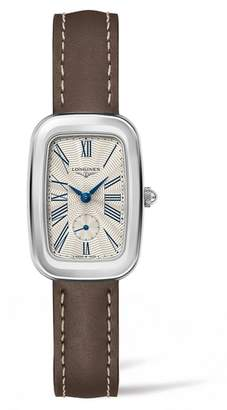 Longines Equestrian Leather Strap Watch, 24.7mm x 36mm