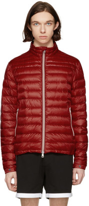 Moncler Red Down Daniel Jacket