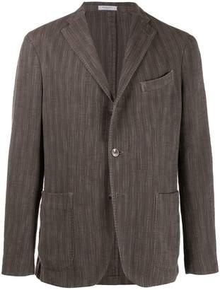 Boglioli striped suit jacket